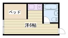 学生割引で家賃2000円ダウンOK 駐車場完備です 13の間取