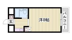 敷金・礼金0円☆ 月々の家賃は抑えたいという方に!! 内装改装済み♪ 404の間取