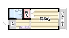 安心のカードキーシステム コンビニ・病院近く生活便利な立地です 106の間取