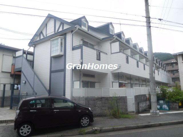 物件番号: 1115126462  姫路市西中島 1K ハイツ 外観画像
