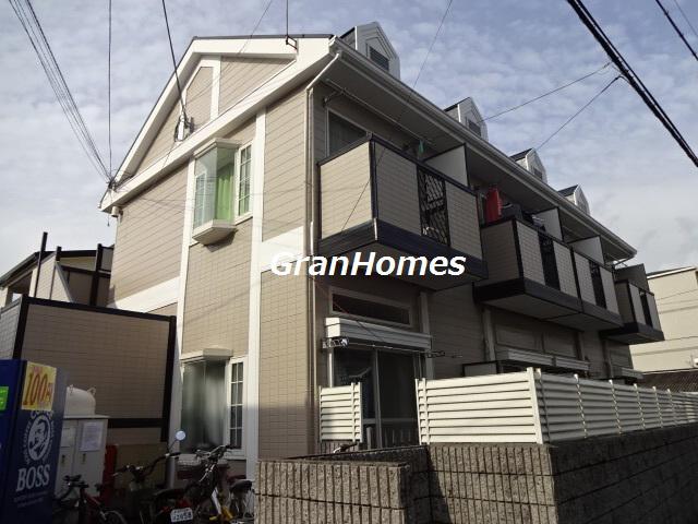 物件番号: 1115178286  姫路市西八代町 1K ハイツ 外観画像